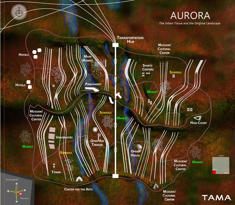 general plan Aurora Australian Capital