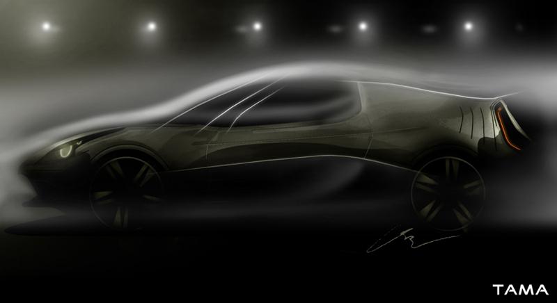 image artistique BOLT Roadster Concept