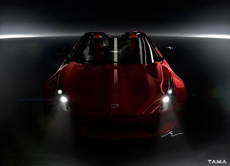 teaser avant BOLT Roadster Concept