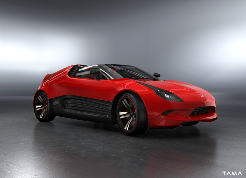 vue avant BOLT Roadster Concept