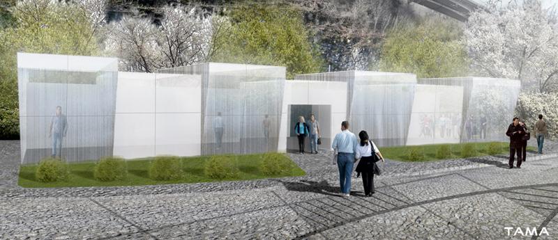 la nouvelle boutique fait face aux Remparts du Château de Chillon