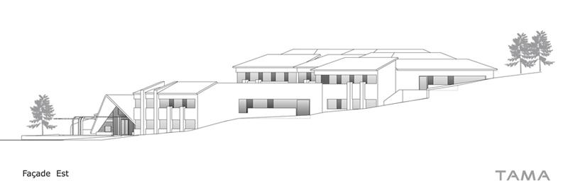 façade Est EMS CSSC Sainte Croix