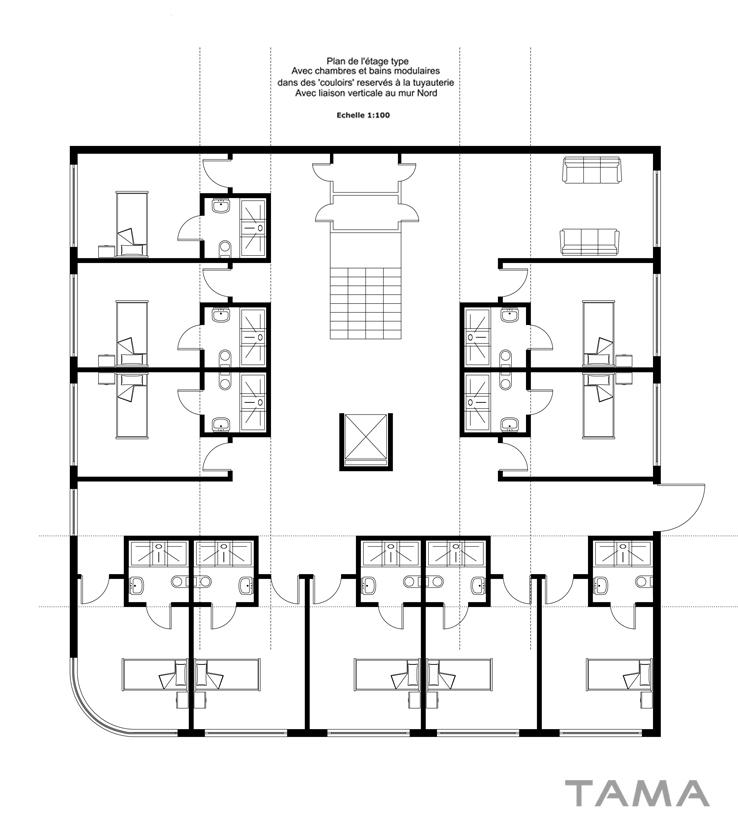 typologie des chambres EMS CSSC Sainte Croix