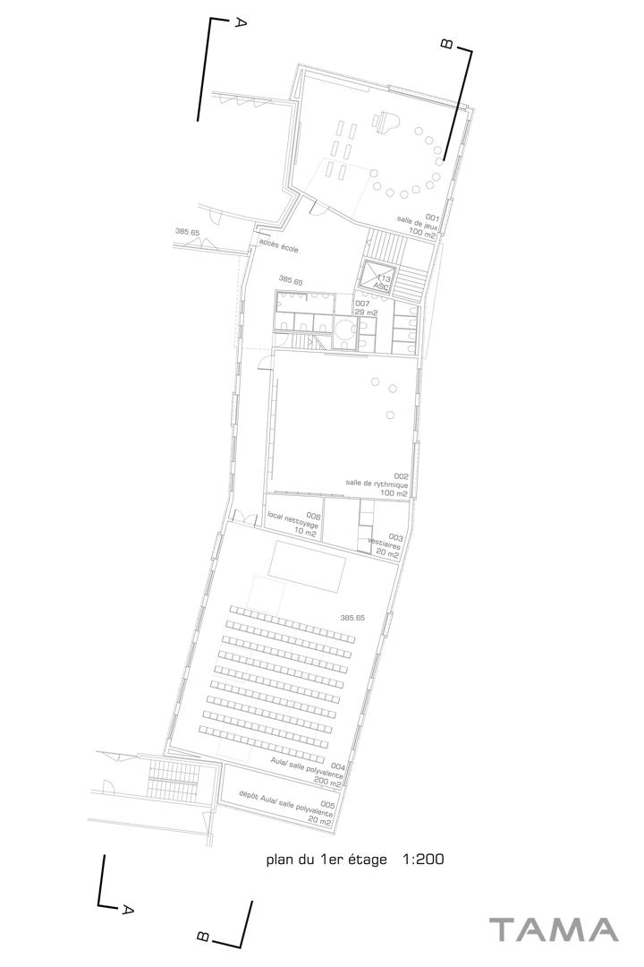 1er étage Ecole du Val d'Arve