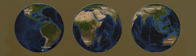 deserts of the world Living Mountain
