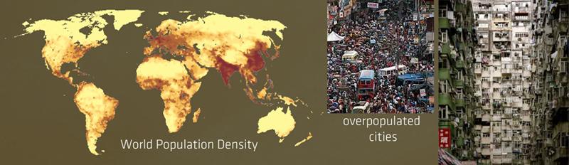 overpopulation worldwide Living Mountain
