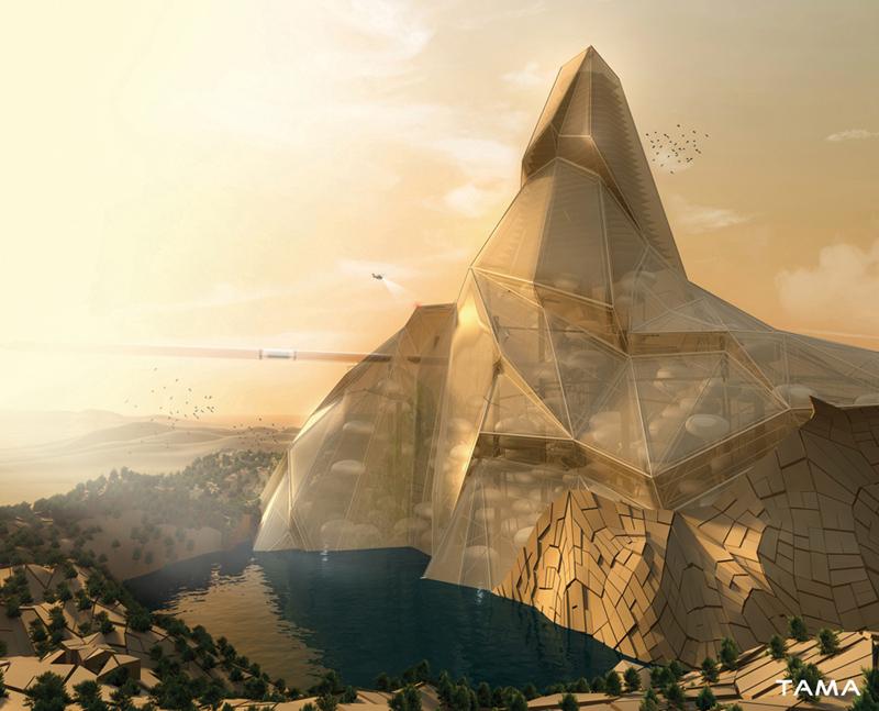 visualization Living Mountain