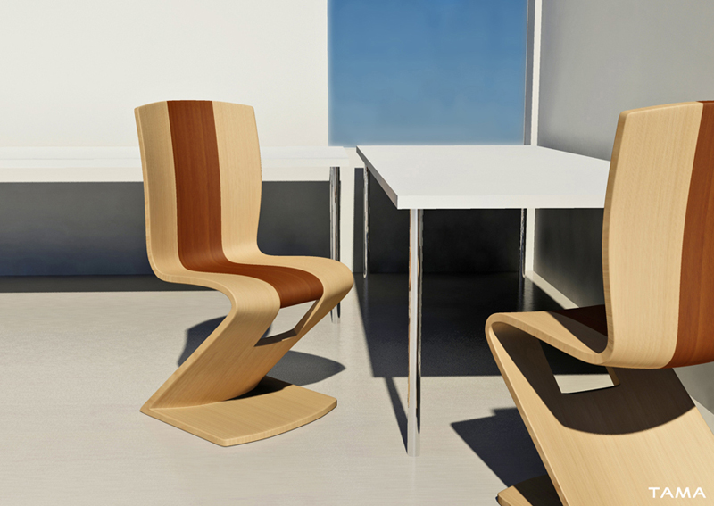 image artistique MAGMA chaise