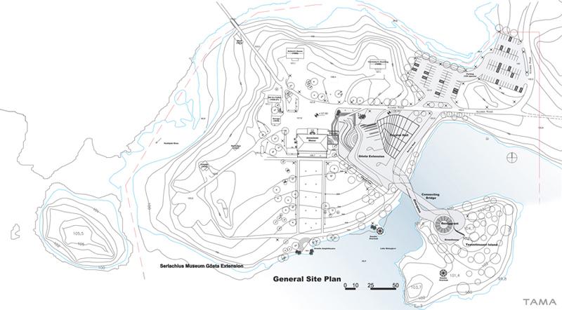 general plan Serlachius Fine Arts Museum