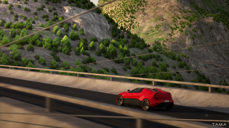 animation 3d et simulation du BOLT roadster