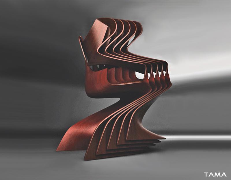 stockage chaise Cadenza