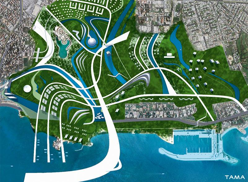 masterplan old Ellinikon International Airport Masterplan